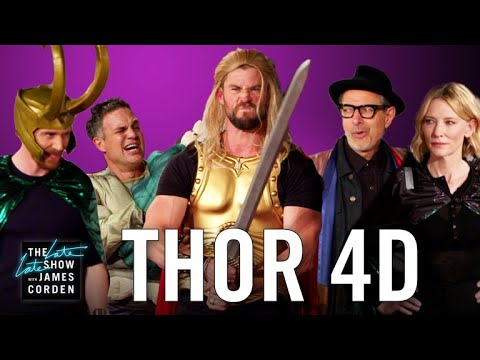 Thor: Ragnarok 4D w/ the 'Thor' Cast