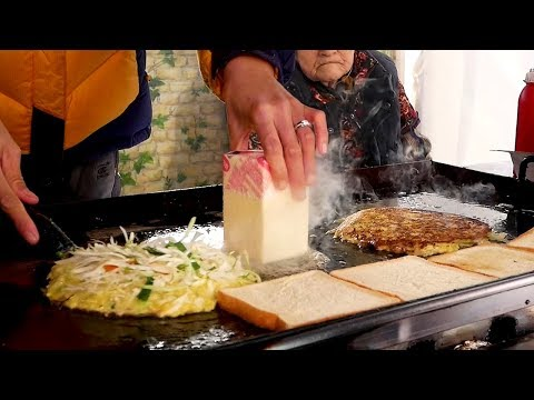 Grandmother's Toast - Korean Street Food