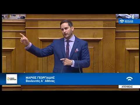 Μ. Γεωργιάδης, για την πρόταση μομφής / Βουλή / 15-6-2018