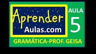 GRAM�TICA - AULA 5 - PARTE 1 - PRONOME DEMONSTRATIVO