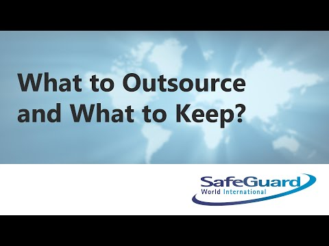 What to Outsource and What to Keep?
