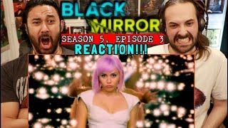 "BLACK MIRROR | Season 5, Episode 3 | REACTION!!! ""Rachel, Jack, and Ashley Too"""