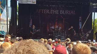 After the Burial - Lost in the Static ( Live @ Warped Tour, Salt Lake City, UT)  6/24/2017