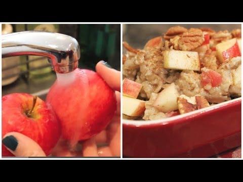 How To Make Apple Cinnamon Oatmeal Recipe