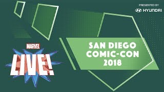 Marvel LIVE! at San Diego Comic-Con 2018 - Day 2