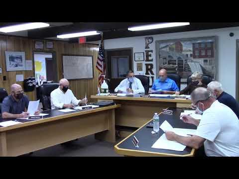 Peru Town Board Meeting  10-14-21