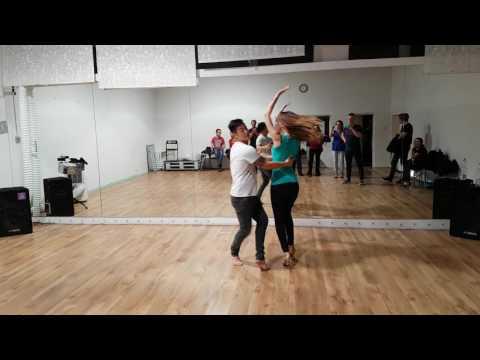 Quoc Nguyen & Monika Janowska - salsa Zet on1