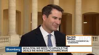 Rep. Seth Moulton Makes His Case for the White House