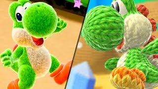 Yoshi Switch VS. Yoshis Woolly World - First Level