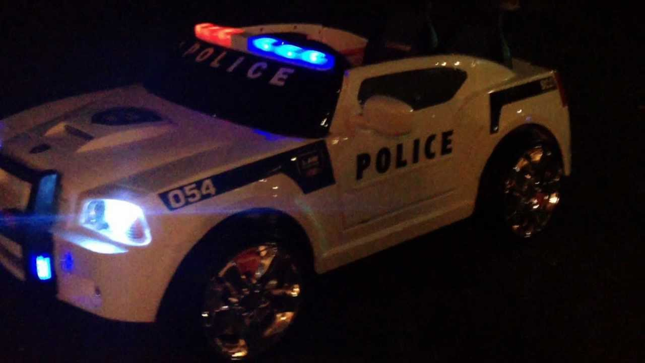 Modified Power Wheel Dodge Charger Police Cruiser