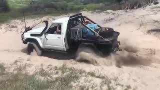 Td42 Gq Patrol at Ngkala rocks