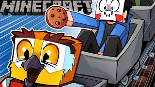 I PLAYED WITH VANOSS & NOGLA ON MINECRAFT! - (Delirious' Perspective) Tree House Build!