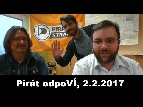 Pirát odpoVÍ, 2.2.2017