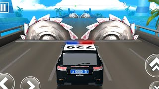DEADLY RACE #16 POLICE Car Bumps Challenge 3d Gameplay Android IOS