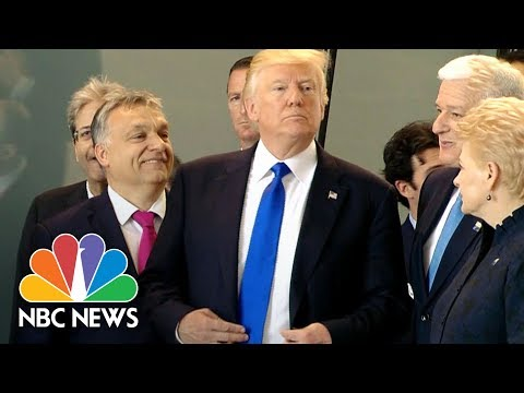 A Look Back At Donald Trump's Awkward Moments With World Leaders   NBC News