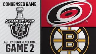 05/12/19 ECF, Gm2: Hurricanes @ Bruins