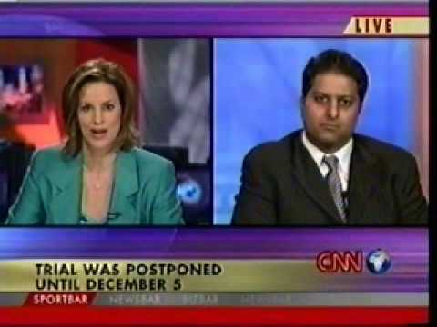 Rahul Manchanda on CNN (Trial of Saddam Hussein) - 2