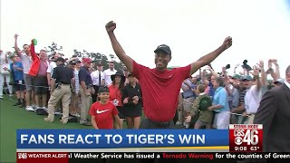 Fans react to Tiger's 5th Masters win