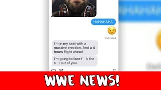 WWE NEWS: Tom Phillips EXPOSED For Cheating on His Fiance!!
