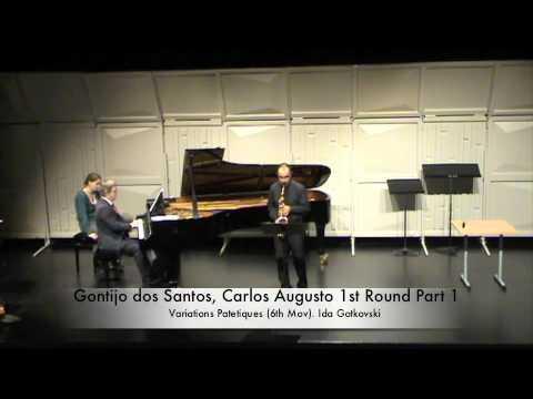 Gontijo dos Santos, Carlos Augusto 1st Round Part 1