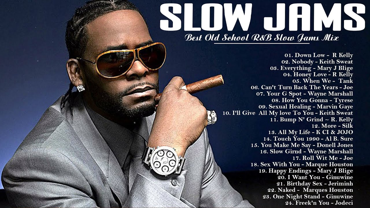 SLOW JAMS | R Kelly, Toni Braxton, Joe, keith Sweat, Mary J Blige, Gerald Levert & More