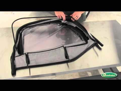 QuadraTop Upper Door Skin Installation for 97-06 Jeep Wrangler