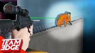 Prison Break Challenge!   Stop the Escapee!!