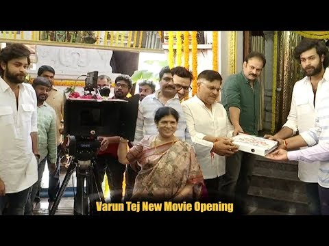 Mega Prince Varun Tej New Movie Opening