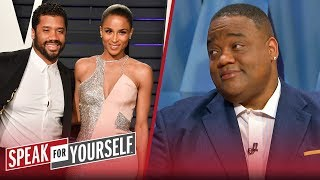 Jason Whitlock applauds Russell Wilson & Ciara's tactics for new contract | NFL | SPEAK FOR YOURSELF