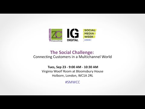 The Social Challenge: Connecting Customers in a Multichannel World