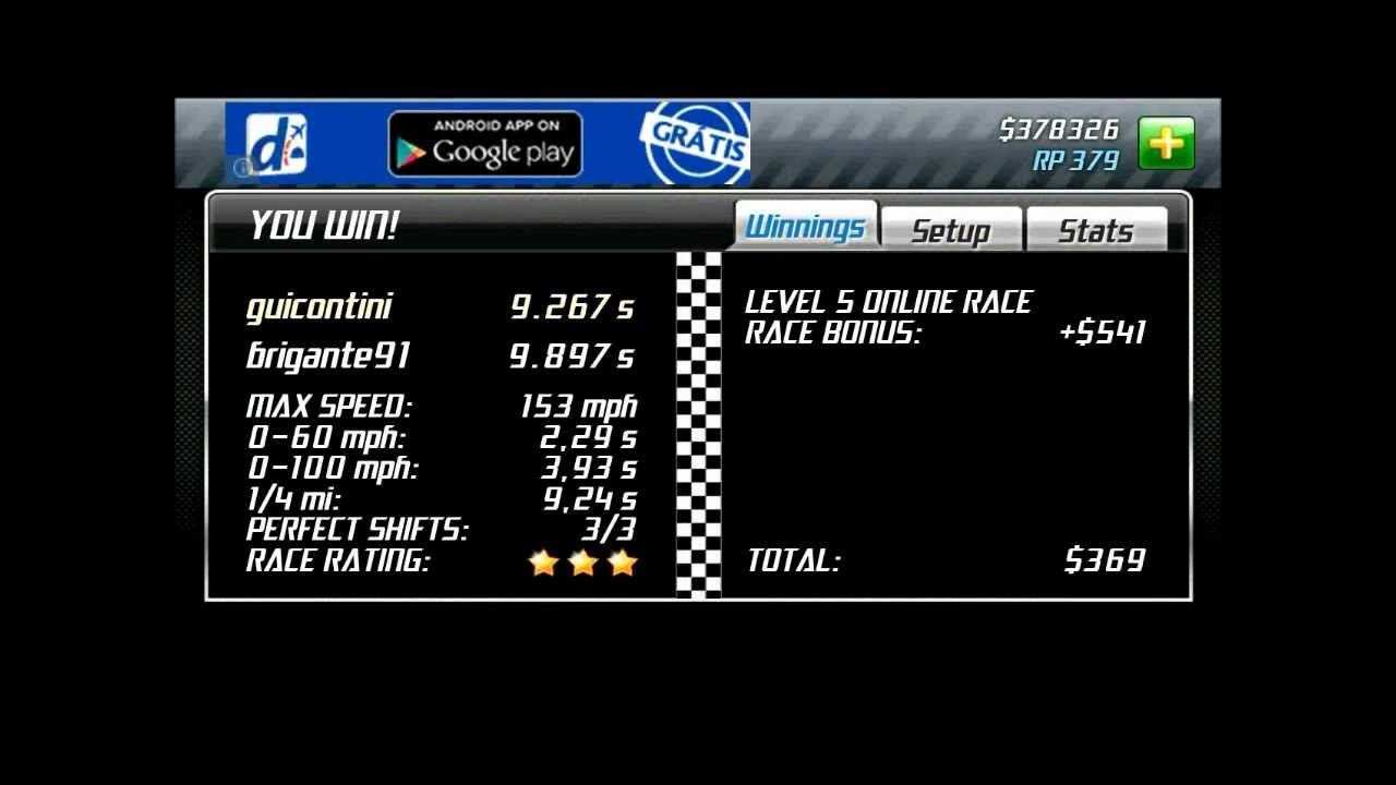 drag racing android level 5 boss gallardo