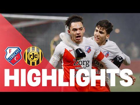 HIGHLIGHTS | Jong FC Utrecht - Roda JC Kerkrade