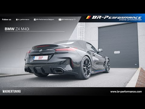 BMW G29 Z4 M40i / Exhaust Sound By BR-Performance / Wagner Decat & OPF Delete