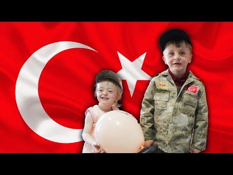 Mardin'de Şehit Çocuklarına 23 Nisan Sürprizi