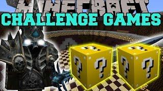 Minecraft: LICH KING CHALLENGE GAMES - Lucky Block Mod - Modded Mini-Game