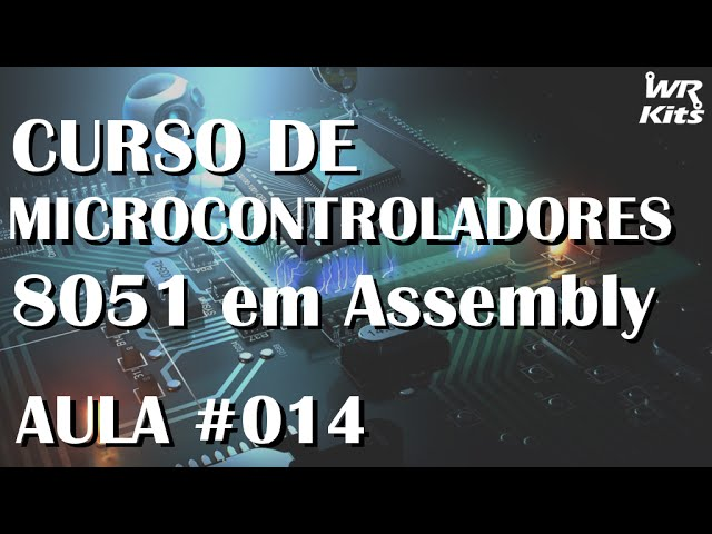 SEQUENCIAL DE LEDS | Assembly para 8051 #014