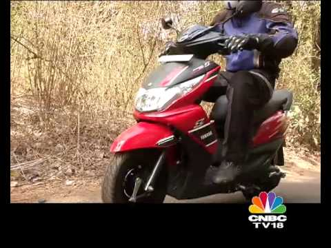 CNBC-TV18 OVERDRIVE - FIRST RIDE REPORT OF THE Yamaha Ray Z