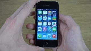 iPhone 4 iOS 7.1.2 - Review (4K)
