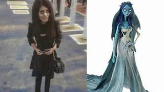 """Special Report ON Sahar Tabar """"Extreme Fan Anglina Jolie Looks Alike Zombie Girl Goes Viral youtube"""