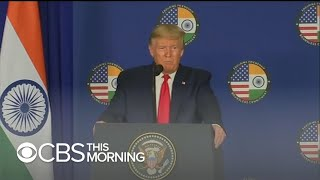 President Trump completes India trip optimistic about new trade deal