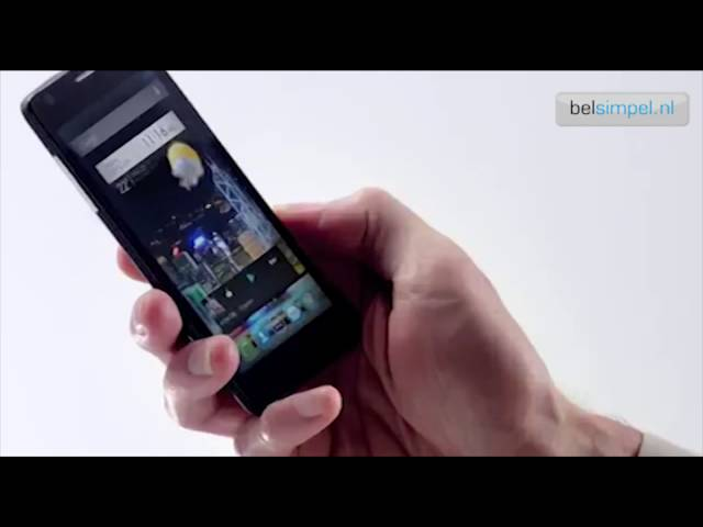 Belsimpel-productvideo voor de Alcatel OneTouch Idol Ultra 6033