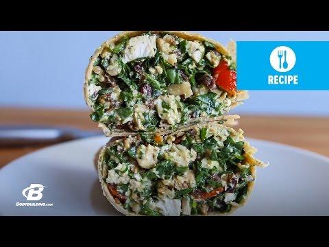 Chopped Chicken Salad Wrap | Next Level 8-Week Challenge | Week 7