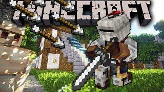 Minecraft: New Knight! Labyrinth Adventure Server Sordrin's Trap Maze