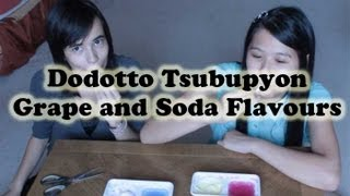 Dodotto Tsubupyon Octopus Poop Candy - Grape and Soda Flavours