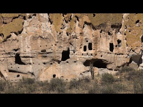 Bandelier National Monument, New Mexico, USA in 4K Ultra HD