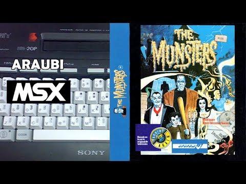 The Munsters (Gremlin, 1988) MSX [199] Walkthrough Comentado