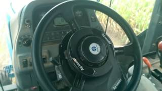 AgLeader OnTrac3 autosteer on Ford/New Holland 9680
