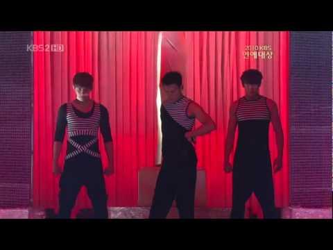 101225 JYP,2PMjunhoNichkhun Miss A   Bad Boy Good Boy KBSAwards
