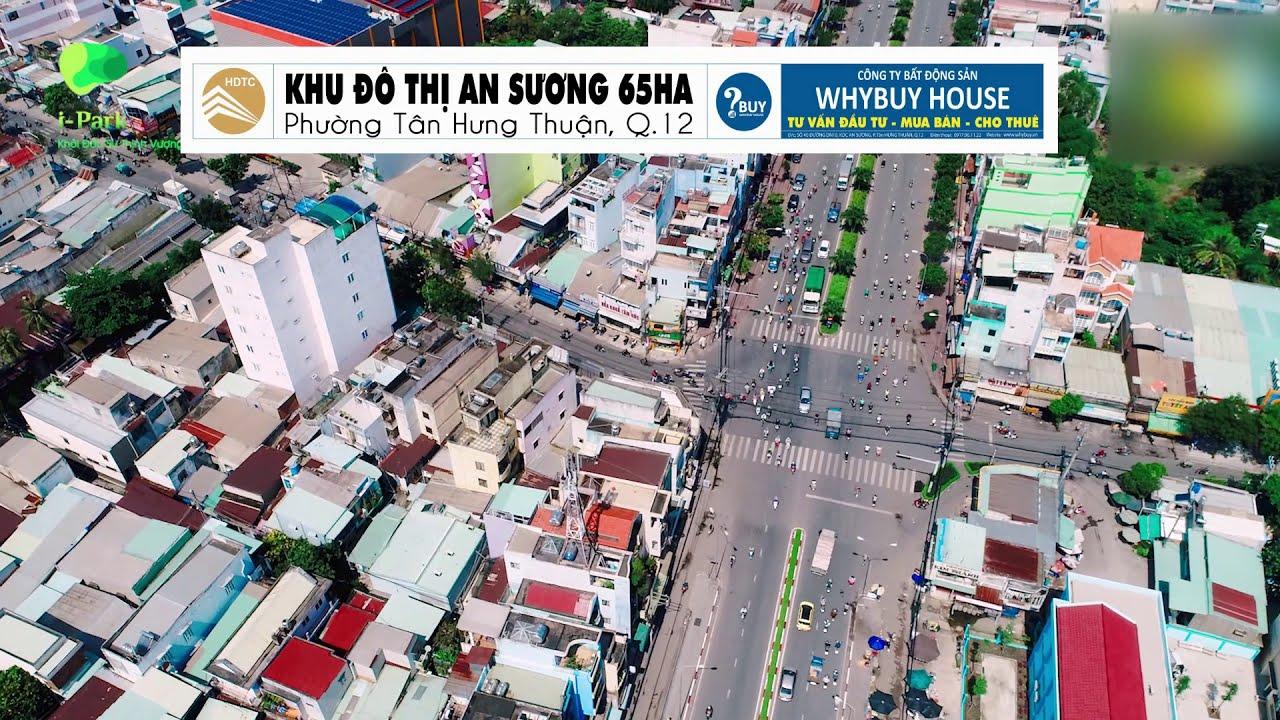 Bán đất nền sổ đỏ KDC An Sương 4.5x20m, mặt tiền đường lớn, hướng mát, vị trí đẹp video