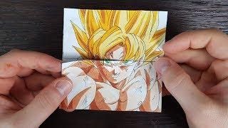 TUTORIAL Goku Transformations 2 | Endless card
